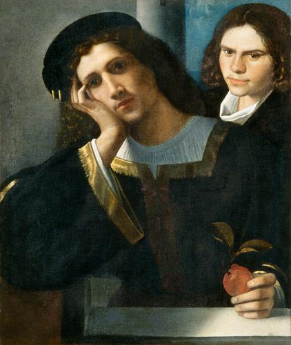 giorgione doppio ritratto