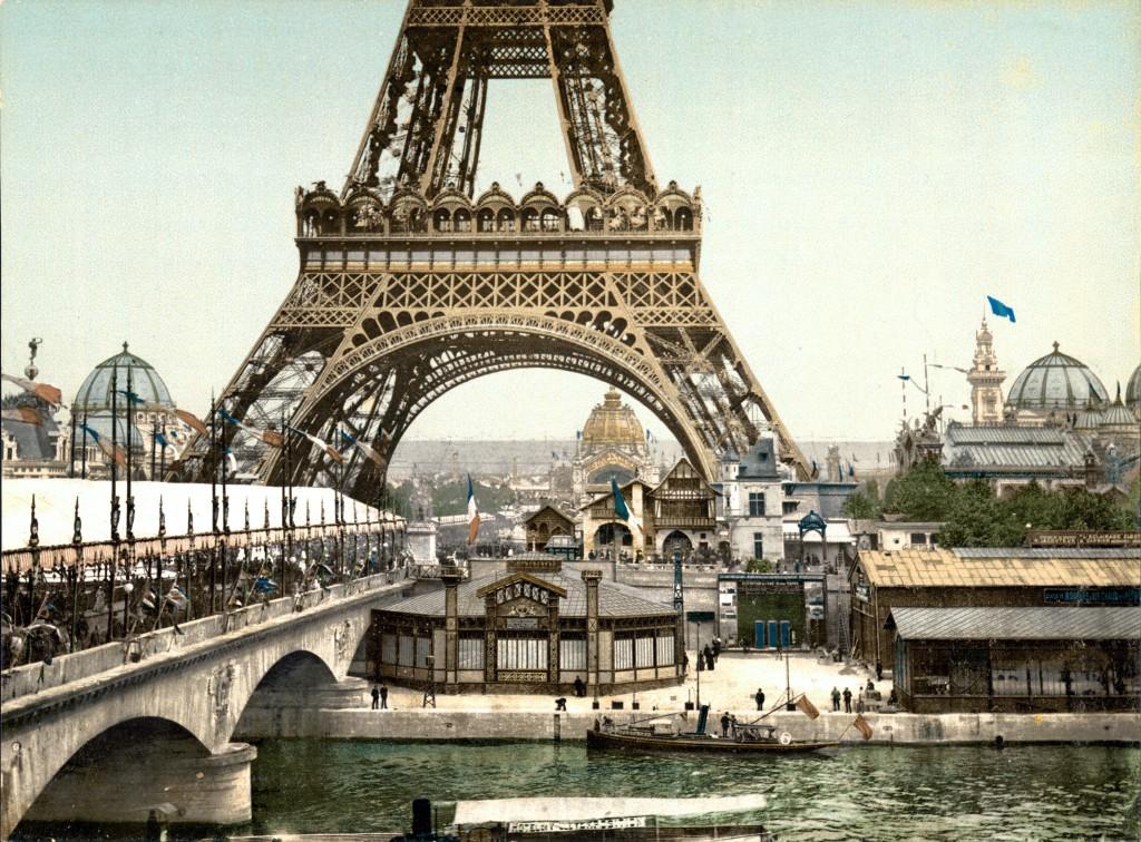 6 marzo 2016_Europa fin de siècle_ La Tour Eiffel_Esposizione Universale del 1900, Parigi