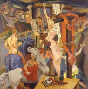 """""""Crocifissione"""" di Renato Guttuso ,1941"""