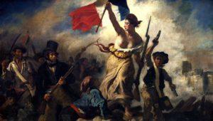 """""""La libertà che guida il popolo"""" di Delacroix, 1830"""