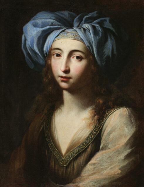 Ginevra-Cantofoli_Giovane-donna-con-vestiti-orientali